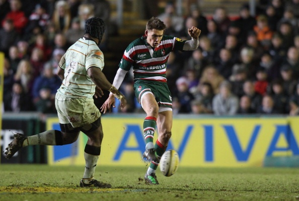 Toby Flood Leicester Tigers