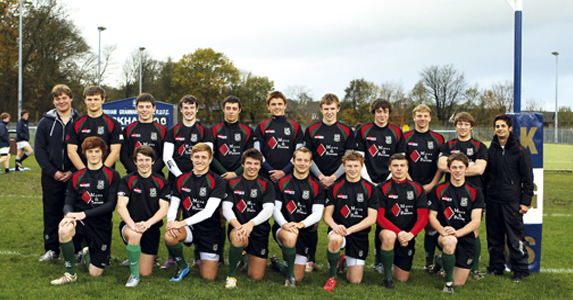 Plymouth College: back row: B Dean, J Mason, A Lochhead, J Norris, M Earle, H Slade, T Cleneghan, W Dickinson, C Scholtissek, C Attis,  N Majilessi. Front row: T Stevens-Fleming, O Mulberry, O Wace,  J Dawe, J Tolan (capt), B Jackson, C Maidment, G Stephenson.