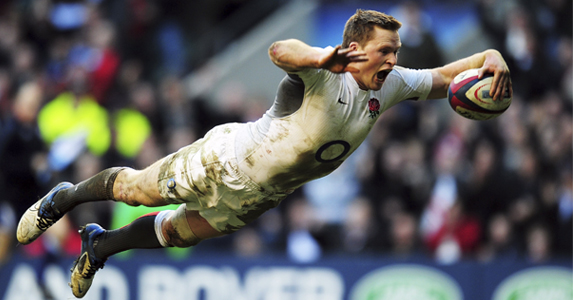 Ben Foden Don T Stop Chris Ashton Diving Rugby World