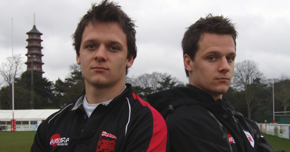 Rob and James Lewis London Welsh