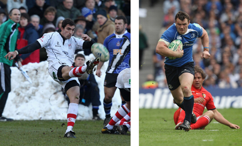 Ruan Pienaar and Cian Healy