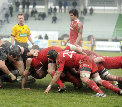 Munster scrum