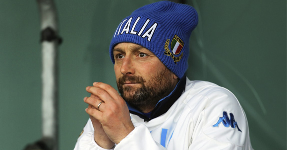 Italy 'A' Coach Gianluca Guidi