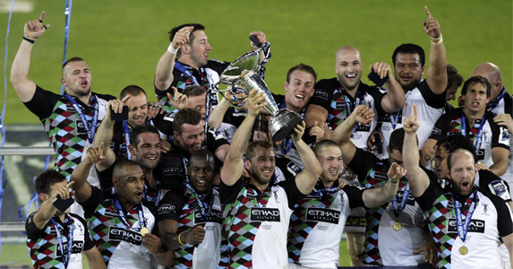 Harlequins - The Amlin Challenge Cup Winners 2011