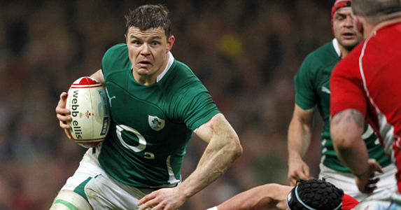 O'Driscoll is the Six Nations top try-scorer with 25 to his name