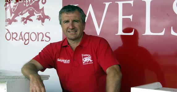 Head Coach at London Welsh - Lyn Jones