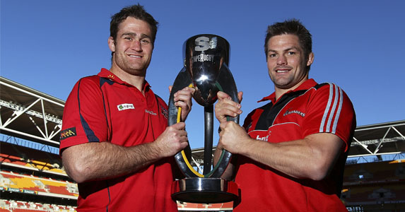 James Horwill and Richie McCaw