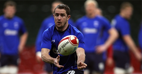 Shane Williams happyto be back in training