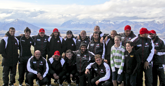 The Georgian squad visit to Criffel Range in Waikato - North Island