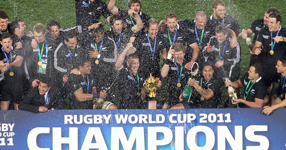 World champions New Zealand