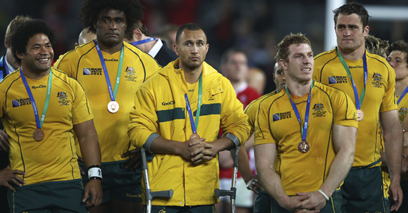The Wallabies may have come third, but they have lost Quade Cooper for at least six months