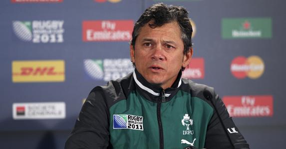 Ireland defence coach - Les Kiss