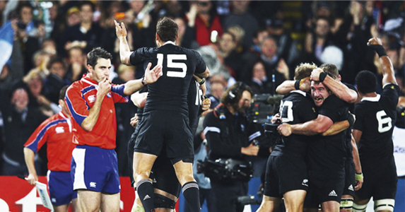 The final whistle of the tournament