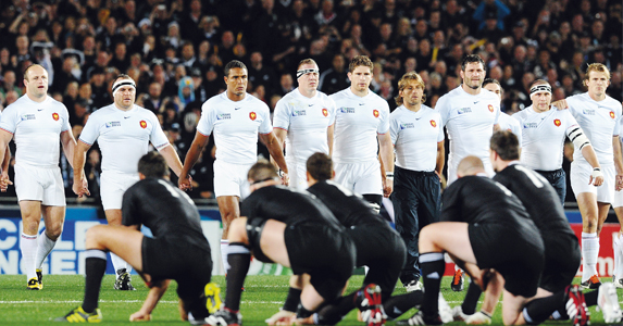 France faced up to the Haka, and also faced an automatic £2,500 fine