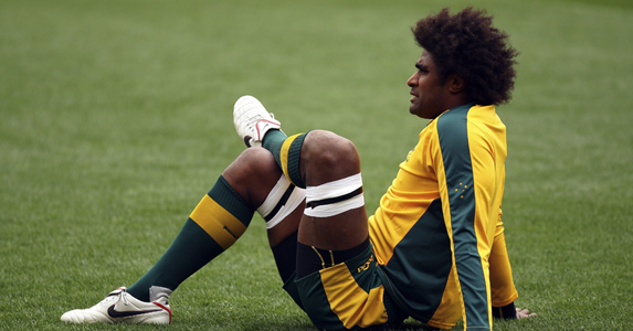 Radike Samo - Oldest member of the Wallaby squad