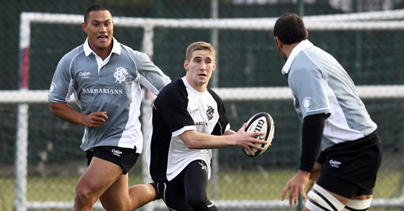 In at the deep end: Sam Tomkins will make his union debut against the world's second-best nation