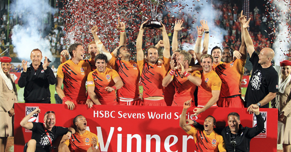 England Sevens retain their Dubai Champions title