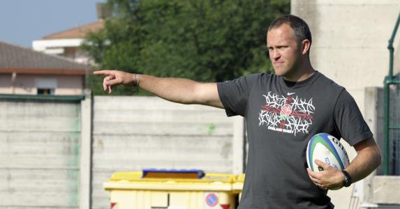 England U20 Head coach Rob Hunter