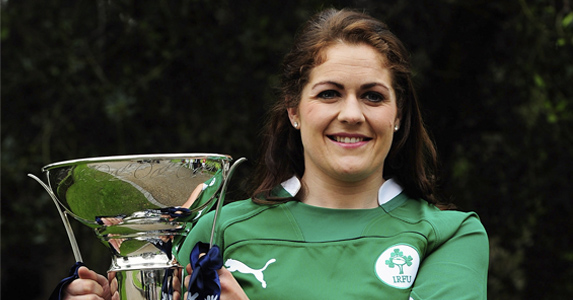Ireland women captain - Fiona Coughlan