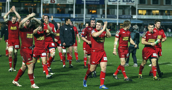 Scarlets have won their last five league games