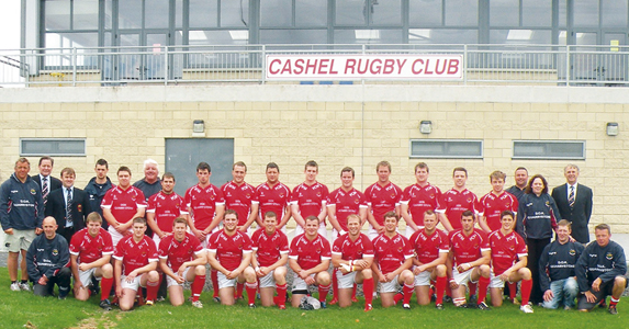 Munster team Cashel are  thriving in their first taste of senior rugby