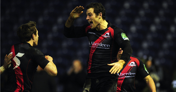 This summer Tim Visser is eligible to play for Scotland