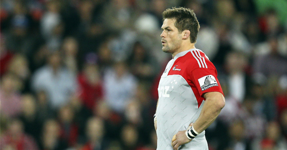A welcome return for fans: Richie McCaw