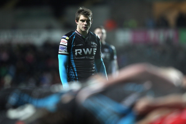 Biggar's back: Dan has been in fine form for the Ospreys