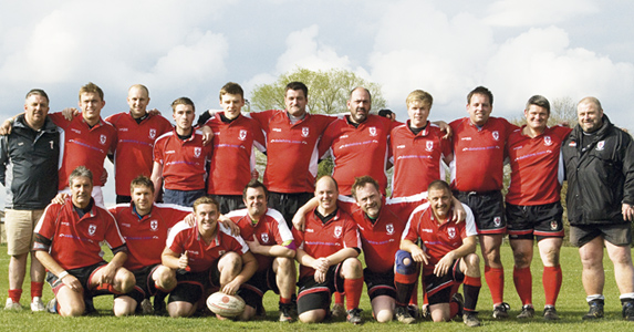 Up and running: the Templars have provided a home for rugby players in Halstead