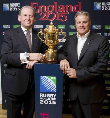Leading men: (L-R) Andy Cosslett and Brett Gosper