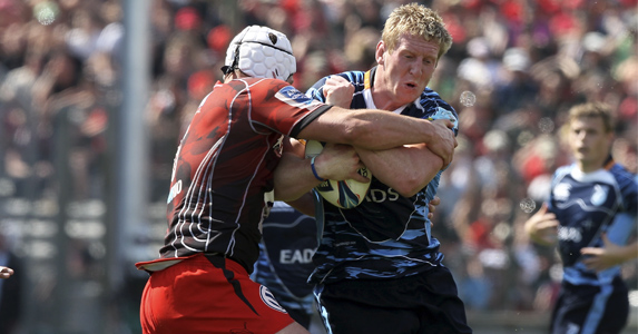 100 times better: Bradley Davies hits the magic number against Ulster tomorrow