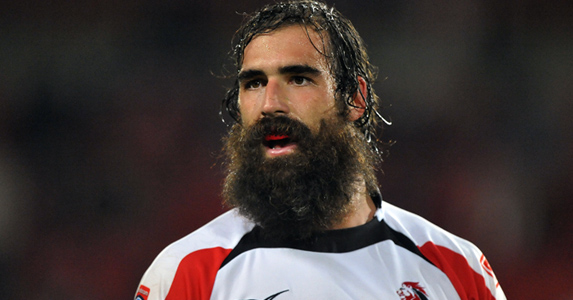 Bearded wonder: South African no.8 Josh Strauss is moving onto pastures new after signing a three-year deal with Glasgow