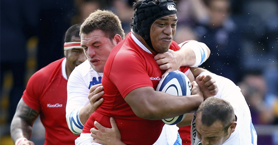 Thank Tonga: The impressive prop will provide injury cover for Glasgow