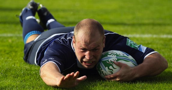 Newly qualified: Leinster hooker Richardt Strauss has been selected after three years in Dublin