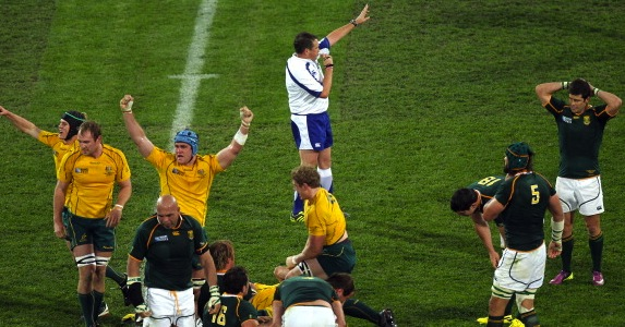 Exiled official: Bryce Lawrence has retired after political pressure from the ARU and SARU