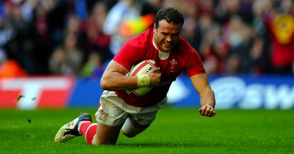 Fit again: Jamie Roberts is back for Wales after missing the summer tour through injury