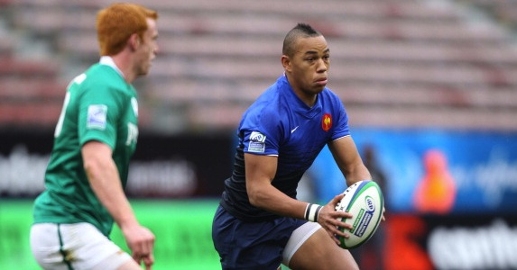 Young talent: Gaël Fickou impressed on his Heineken Cup debut for Toulouse against Leicester