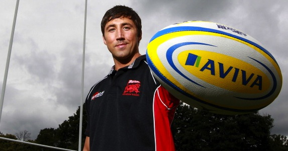 First start: Gavin Henson will make his first start in the Aviva Premiership for nearly two years