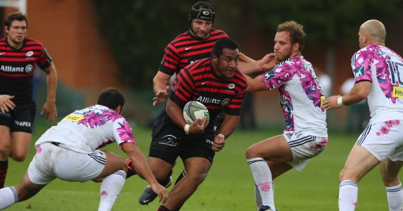 Rapid rise: Mako Vunipola has been named in the England squad for the first time