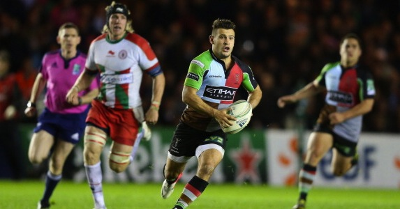 Breaking away: Danny Care's impressive showing boosted his international selection chances