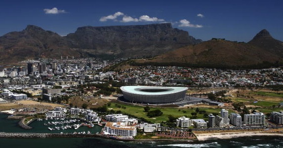Spectacular setting: Saracens plans to host a match at Cape Town Stadium have been rejected