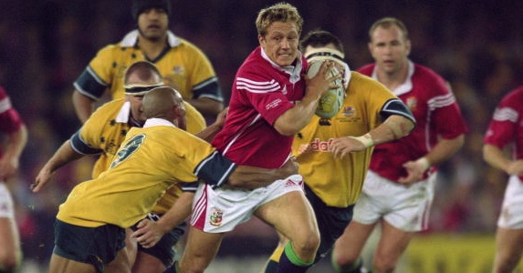 Hungry for Wallabies: Jonny Wilkinson said playing for the Lions would be impossible to turn down