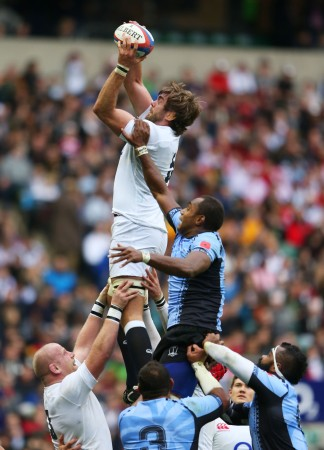 Clean possession: England functioned well