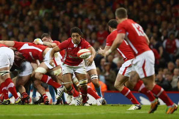 Stand-out: Faletau carried Wales