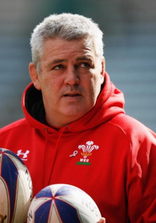 Plotting: Warren Gatland in 2009