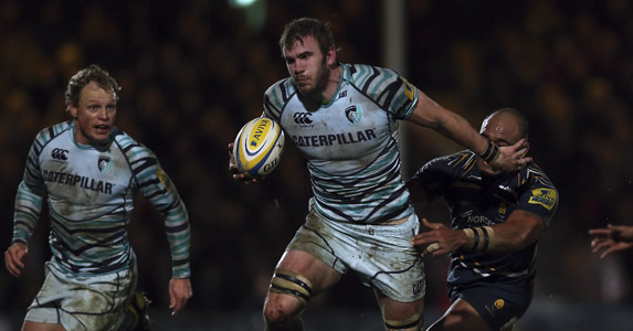 Galloping flanker: Tom Croft makes a dynamic return for Leicester Tigers