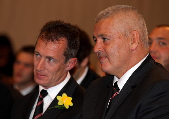 Mentored: Howley with Warren Gatland