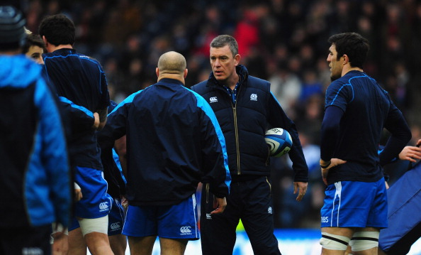 Point to prove: Dean Ryan guides the pack