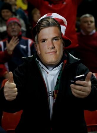 Fans favourite already: Owen Farrell(-ish)