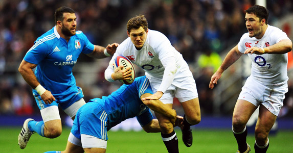 Quiet reliant: Alex Goode has been a trusty servant for England, but will he miss out on an invite to flashier full-backs?